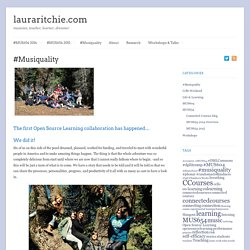 #Musiquality - lauraritchie.com