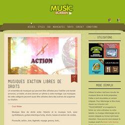 Musique d'action libre de droit