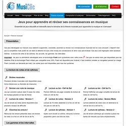 Jeux de musique pour apprendre, réviser et comprendre la théorie de la musique