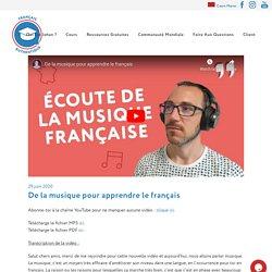 De la musique pour apprendre le français