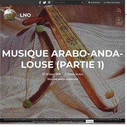 musique arabo-andalouse (partie 1) - LNO