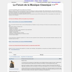 Le Forum de la Musique Classique ~ Acquisition de l'oreille absolue