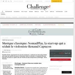 Musique classique: la start-up qui a séduit Renaud Capuçon