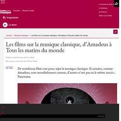 Les films sur la musique classique, d'Amadeus à Tous les matins du monde