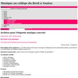 Musique au collège du Breil à Nantes