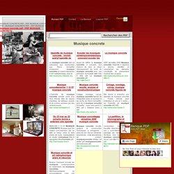 Musique concrete pdf - PDF MUSIQUE CONCRETE