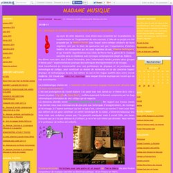 4e : Musique et société contemporaine (Musique concrète)