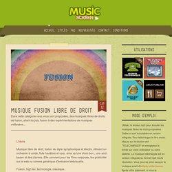 Musique de fusion libre de droit