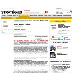 Musique et marques: six cas à suivre de près - Dossiers