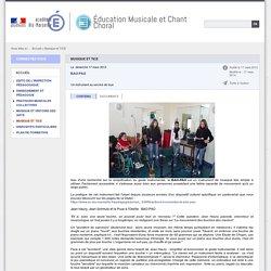 Musique et TICE - Éducation Musicale et Chant Choral