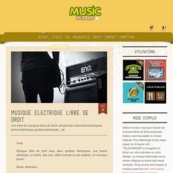 Musique électrique libre de droit