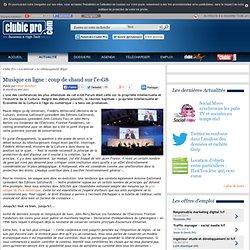 Musique en ligne : coup de chaud sur l'e-G8