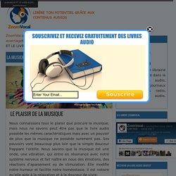 LA MUSIQUE ET LE LIVRE AUDIO - ZoomVocal.com