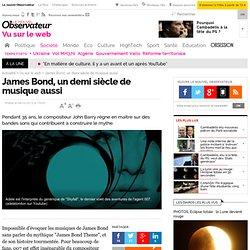 VIDEOS. James Bond, un demi siècle de musique aussi