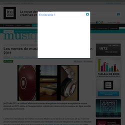Musique - Article - Les ventes de musique poursuivent leur baisse en 2011