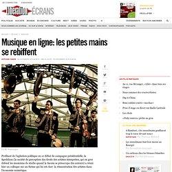 Musique en ligne : les petites mains se rebiffent
