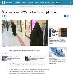 Čeští muslimové? Vzdělanci, co zajdou na pivo