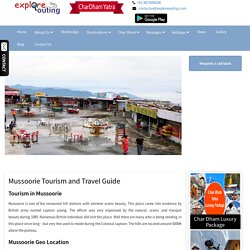Mussoorie Tourism and Travel Guide, Hill Station and Adventure Activities in Mussoorie