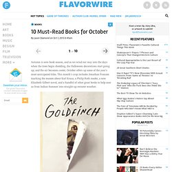 10 Must-Read Books for October