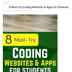 8 Must-Try Coding Websites & Apps for Students