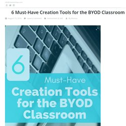 6 Must-Have Creation Tools for the BYOD Classroom