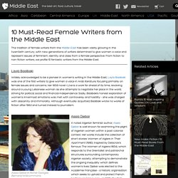10 Must-Read Female Writers from the Middle East