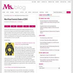 Must-Read Feminist Books of 2014