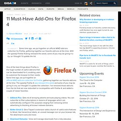 11 Must-Have Add-Ons for Firefox 4: Online Collaboration « - Flock