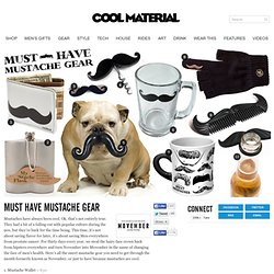 Must Have Mustache Gear