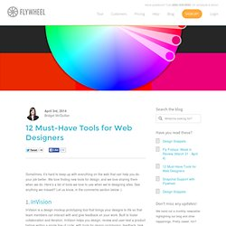 12 Must-Have Tools for Web Designers