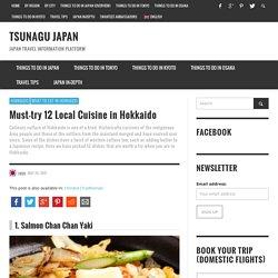 Must-try 12 Local Cuisine in Hokkaido