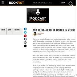 100 Must-Read YA Books Written in Verse