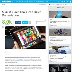 5 Must-Have Tools for a Killer Presentation