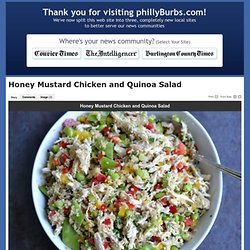 Honey Mustard Chicken and Quinoa Salad