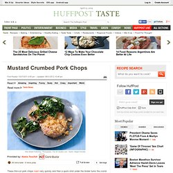 Mustard Crumbed Pork Chops