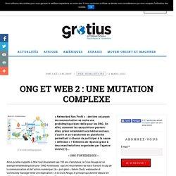 ONG et web 2 : une mutation complexe