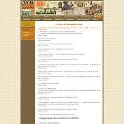 .:. MALD, Mutations africaines dans la longue durée .:. Les revues