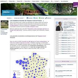 Les mutations récentes de l'espace rural en France - Globe