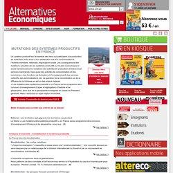 Mutations des systèmes productifs en France n°112 Juin 2014