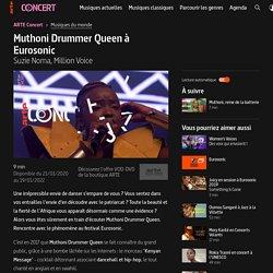 Muthoni Drummer Queen à Eurosonic