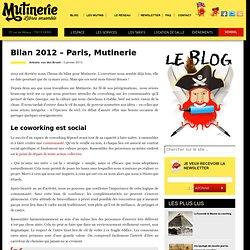 Bilan 2012 - Paris, Mutinerie