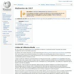 Mutineries de 1917