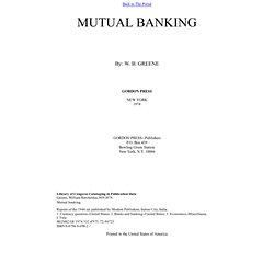 Mutual Banking
