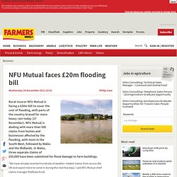 NFU Mutual faces £20m flooding bill - 11/28