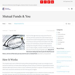 Mutual Funds & You