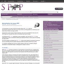 Mutualisation du noyau SPIP