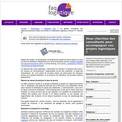 GMA : Gestion Mutualisée des Approvisionnements