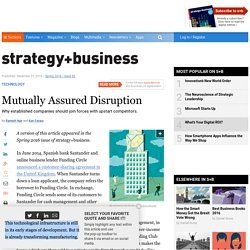 Mutually Assured Disruption