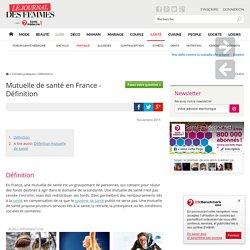 Mutuelle de santé en France - Définition
