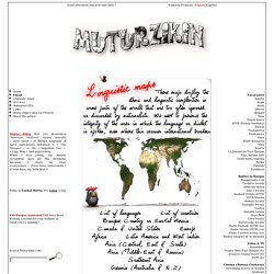 Muturzikin - Linguistic maps [en][fr][eu][es]